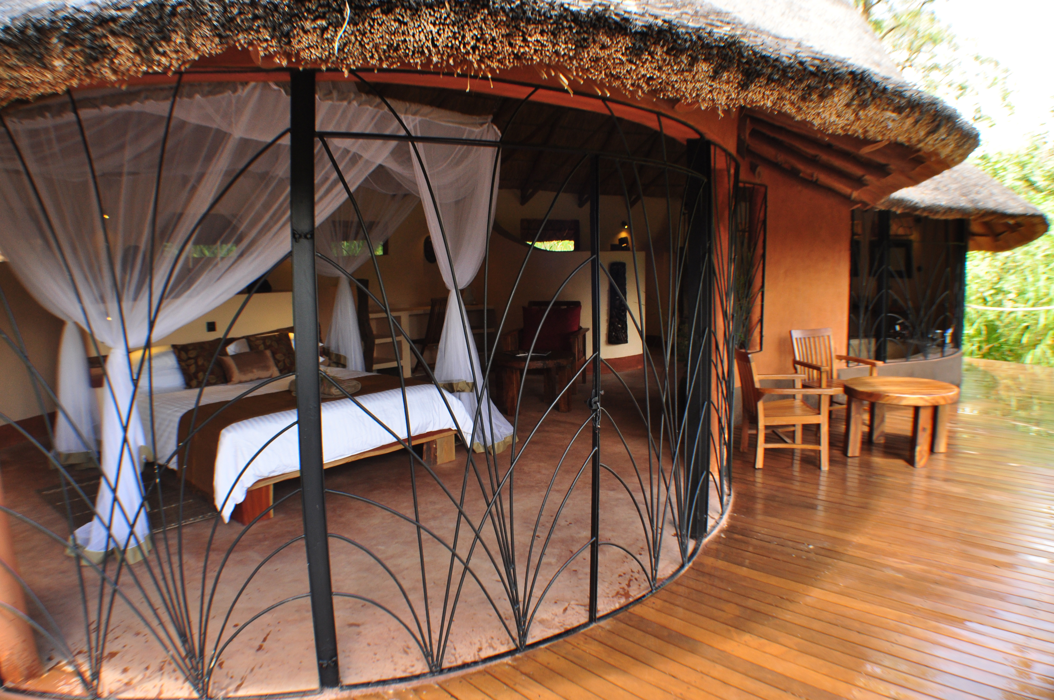 Tongole Wilderness Lodge - Bedroom From Outside
