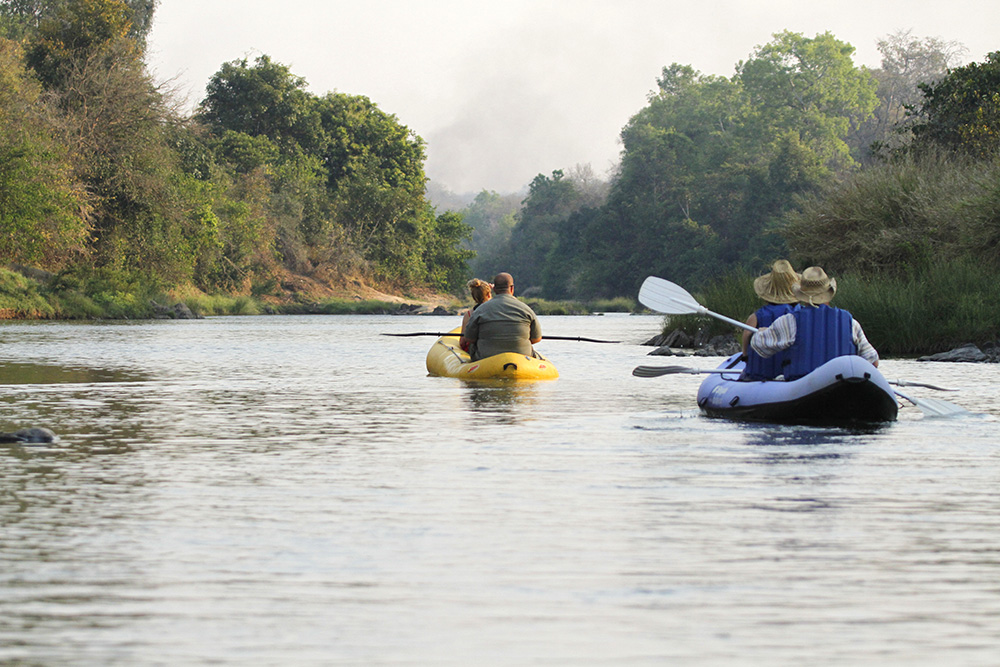 Exploring the River - Tongole Wilderness Lodge