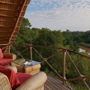 From the deck - Tongole Wilderness Lodge