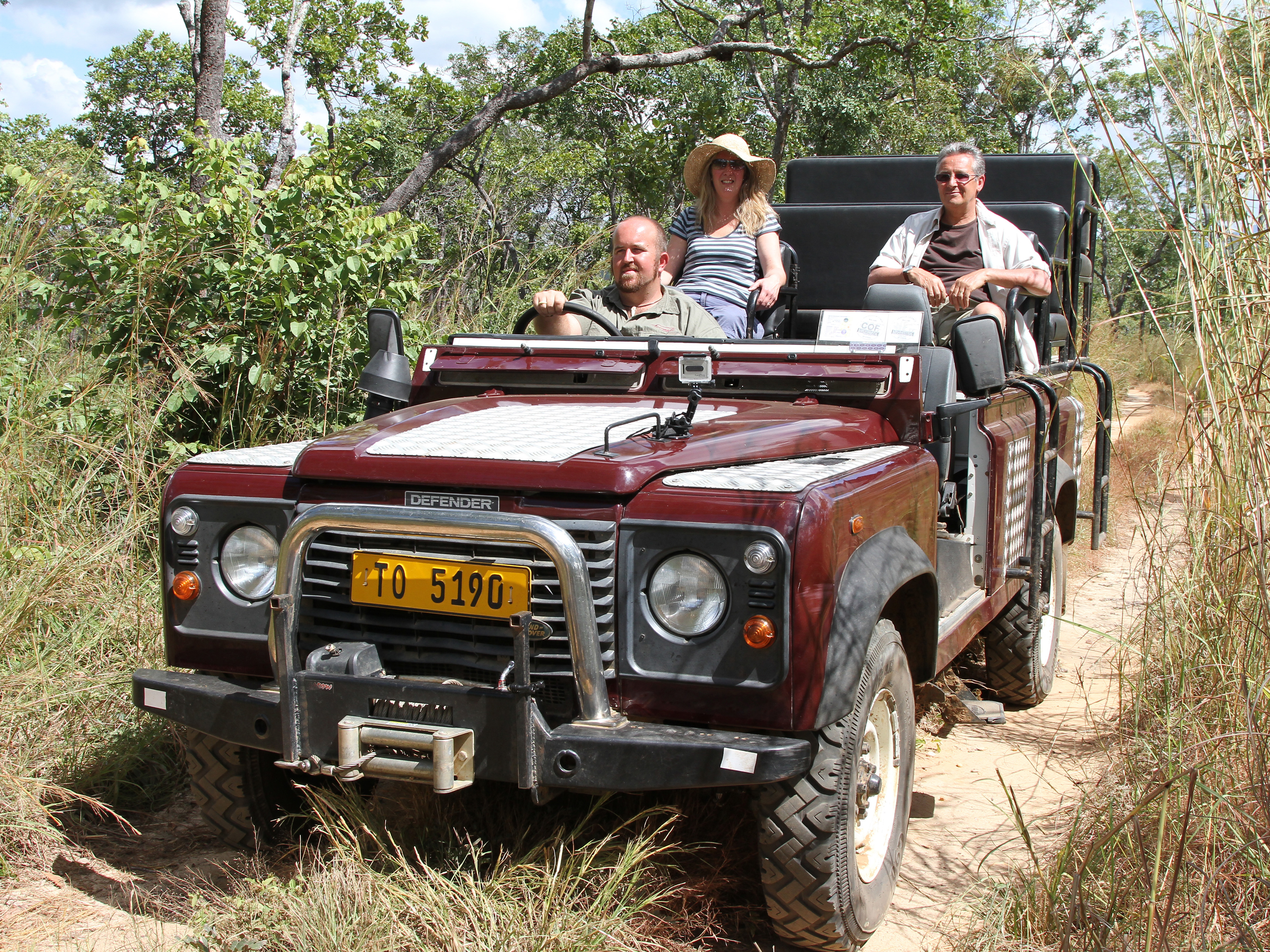 Wilderness Safari Vehicle - Tongole Wilderness Lodge
